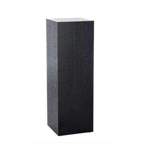 sellette design bois noire 90 cm. Black Bedroom Furniture Sets. Home Design Ideas