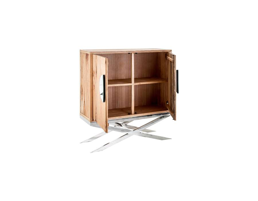 Armoire basse design ou buffet moderne - Bibliotheque basse bois ...
