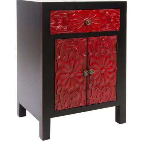 meuble asiatique rouge maison design. Black Bedroom Furniture Sets. Home Design Ideas
