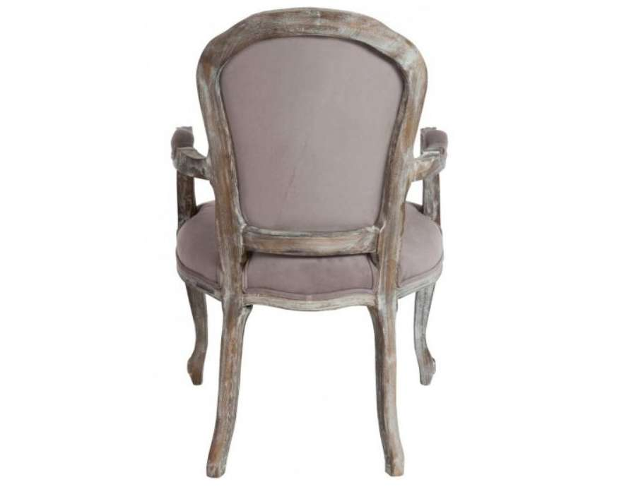 fauteuil louis xv chene velours taupe fauteuil bergere taupe. Black Bedroom Furniture Sets. Home Design Ideas