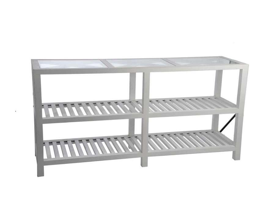 console drapier blanc jolipa de 160 cm. Black Bedroom Furniture Sets. Home Design Ideas