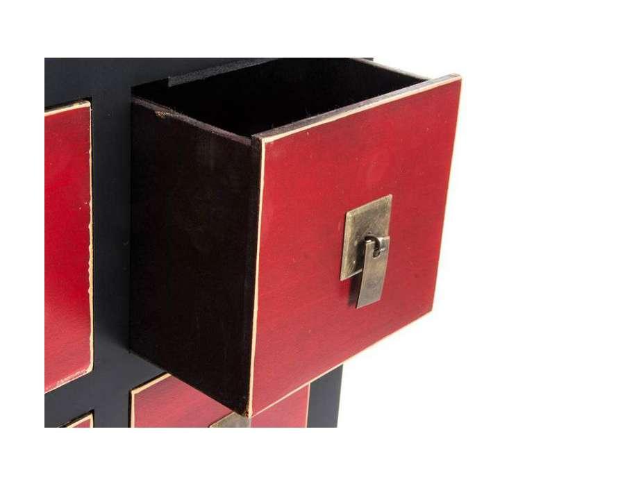meuble chinois noir et rouge id e inspirante pour la conception de la maison. Black Bedroom Furniture Sets. Home Design Ideas