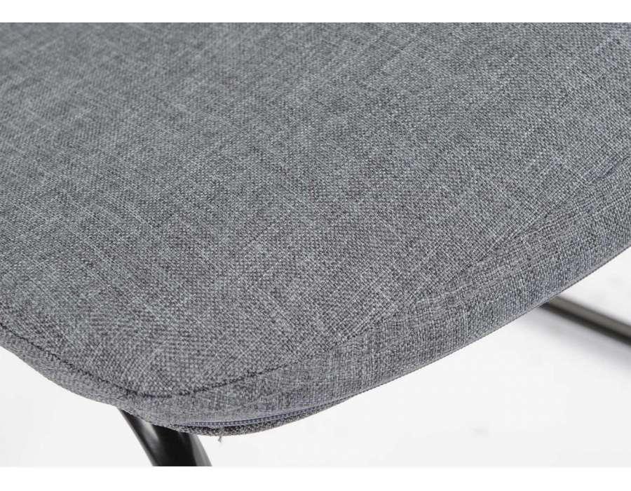 Interesting chaise grise moderne chaise grise moderne - Housse de chaise grise pas cher ...