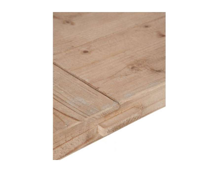 Table bois pieds balustres