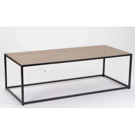 Grande table de salon bois et m tal pas chere - Grande table de salon en bois ...
