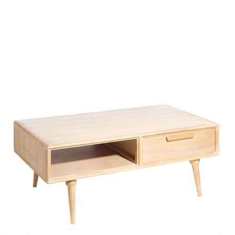 table salon bois scandinave de 126 cm. Black Bedroom Furniture Sets. Home Design Ideas