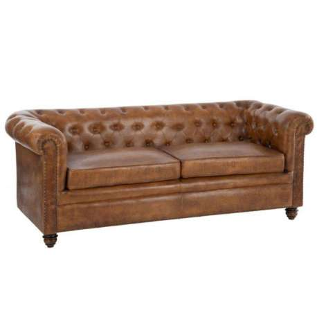 canap vintage cuir anglais forme chesterfield. Black Bedroom Furniture Sets. Home Design Ideas
