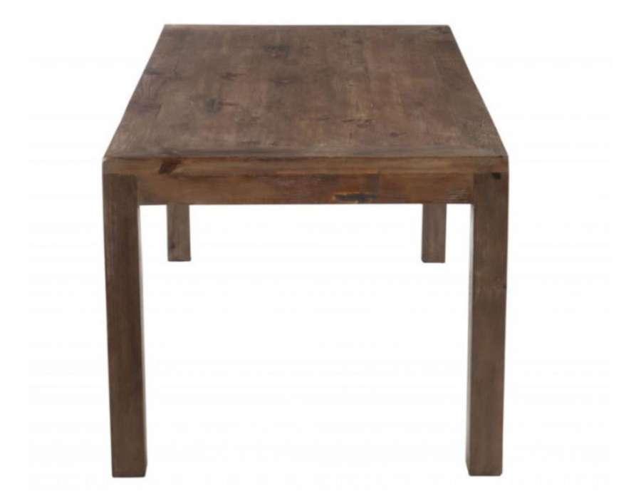 grande table de ferme pas chere 180 cm avec large plateau. Black Bedroom Furniture Sets. Home Design Ideas