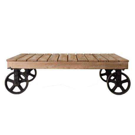 Roulettes Vical Basse Chariot Table Indus Home RjL5A4