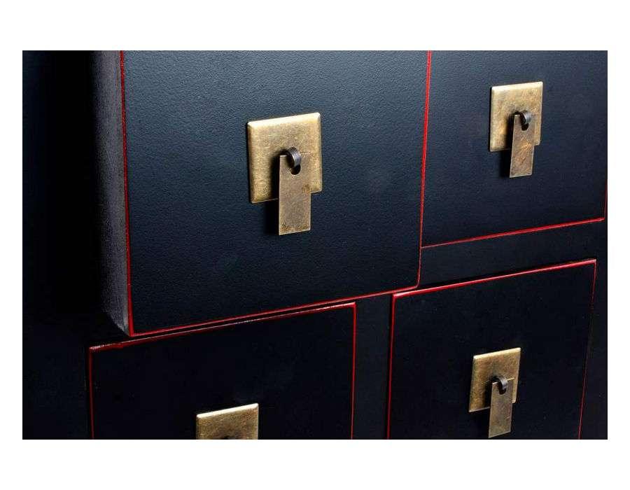 Petit chiffonnier pas cher chiffonnier petits tiroirs for Petit meuble japonais