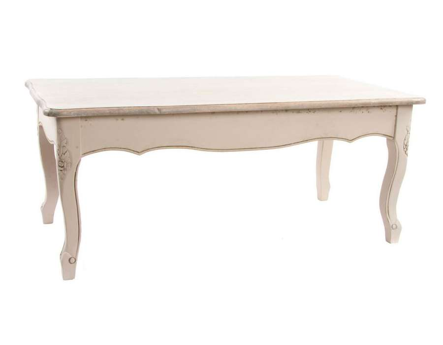 table salon galb e beige romantique. Black Bedroom Furniture Sets. Home Design Ideas