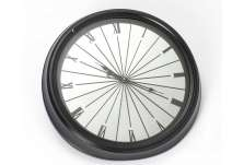Horloge miroir chic moderne 62 cm