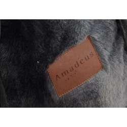 Plaid fourrure gris Amadeus