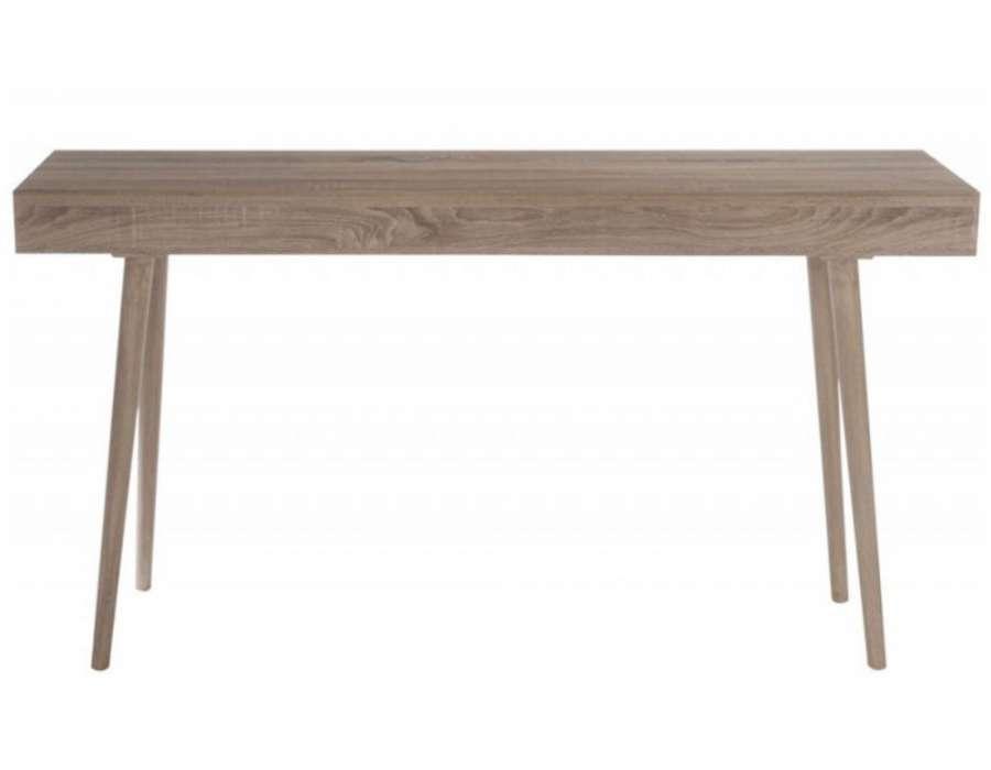 console bois naturel scandinave pur e pas chere jolipa. Black Bedroom Furniture Sets. Home Design Ideas