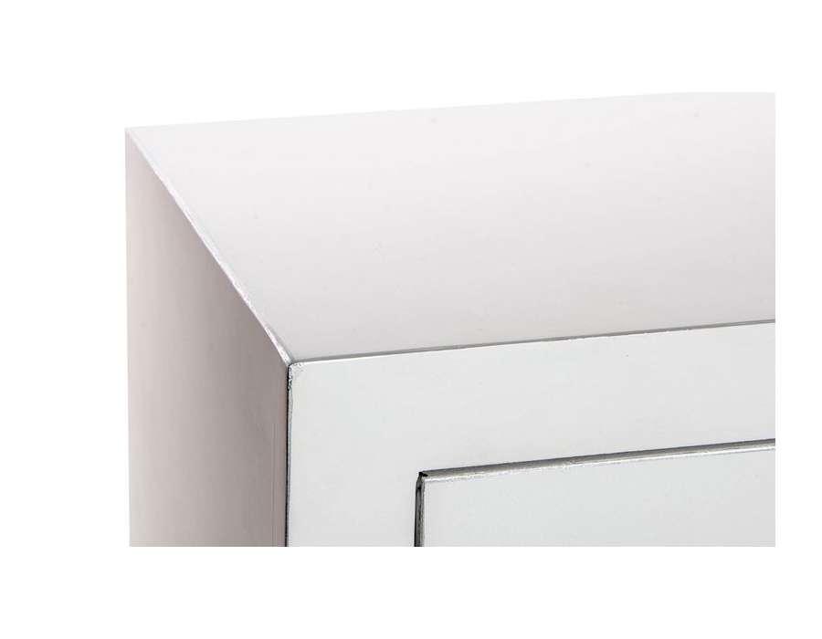 Buffet japonais blanc 3 tiroirs