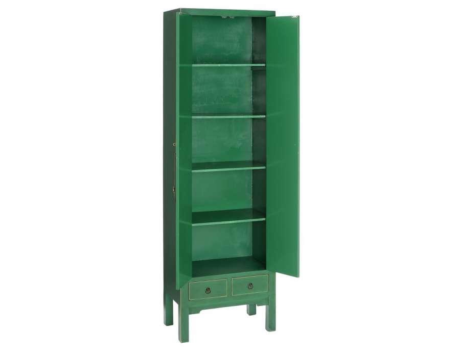 armoire chinoise verte meuble de rangement chinois. Black Bedroom Furniture Sets. Home Design Ideas