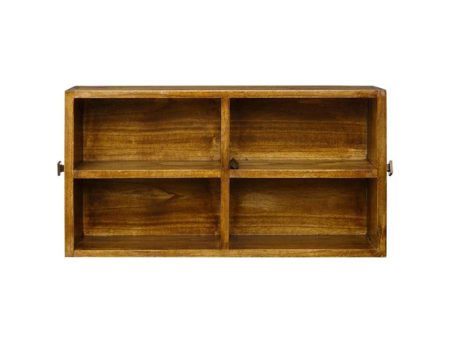 table basse bois massif avec plateau verre. Black Bedroom Furniture Sets. Home Design Ideas