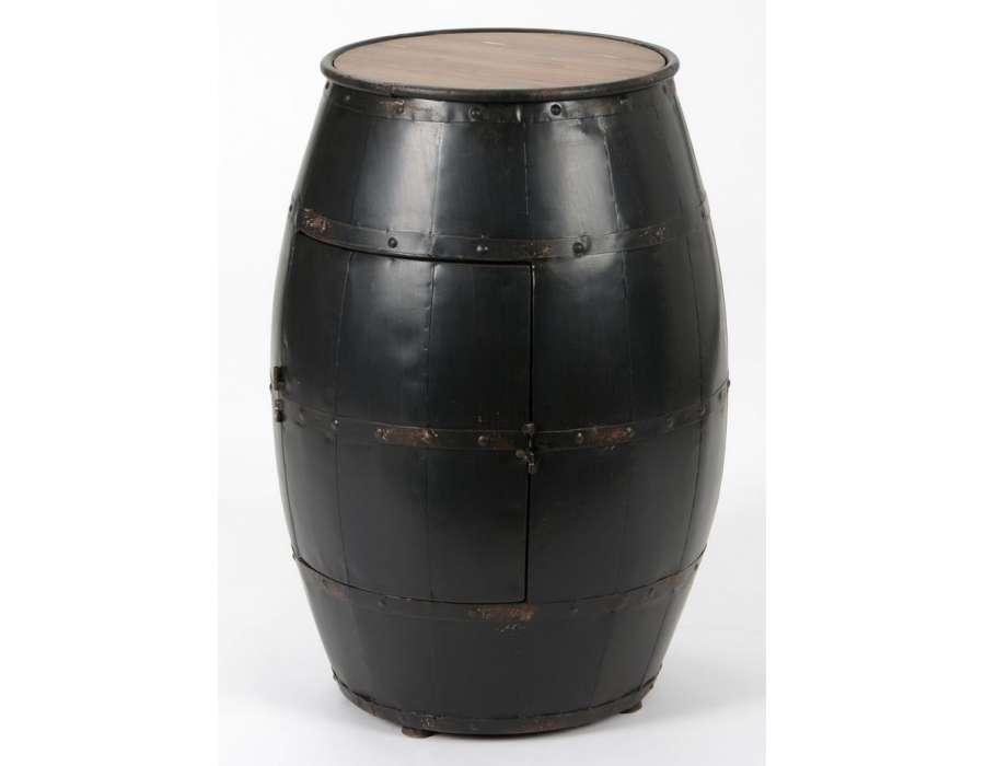 tonneau barrique range bouteille amadeus. Black Bedroom Furniture Sets. Home Design Ideas