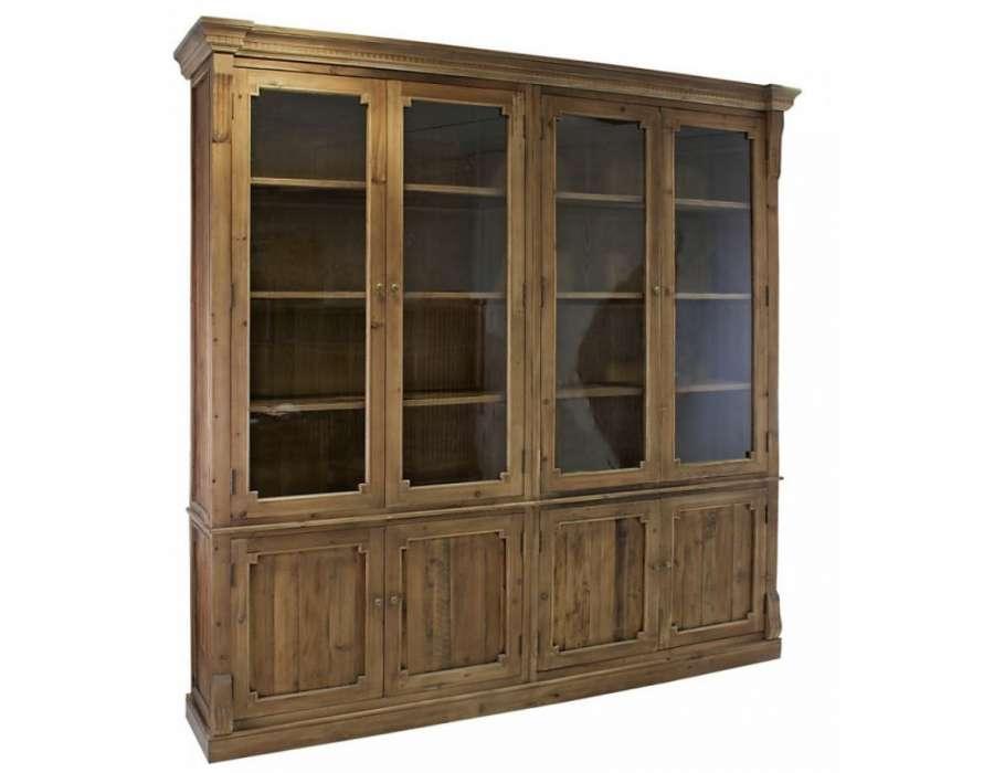 Grand vaisselier bois maison de famille - Prix portes interieures vitrees ...