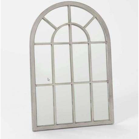 miroir quadrill gris patin 60 cm amadeus. Black Bedroom Furniture Sets. Home Design Ideas