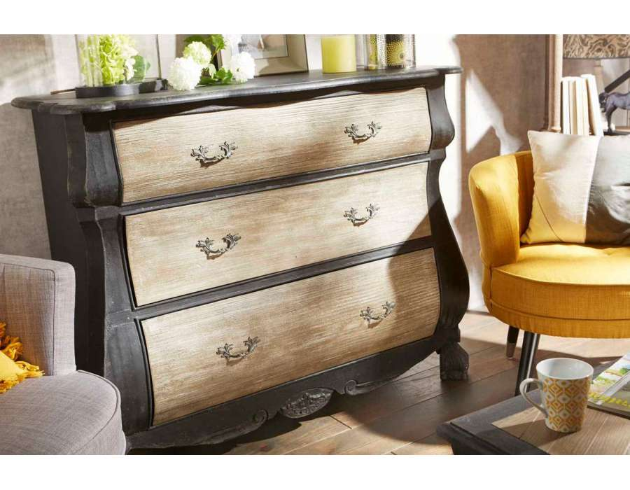 commode noire pas cher latest enchanteur bahut blanc. Black Bedroom Furniture Sets. Home Design Ideas