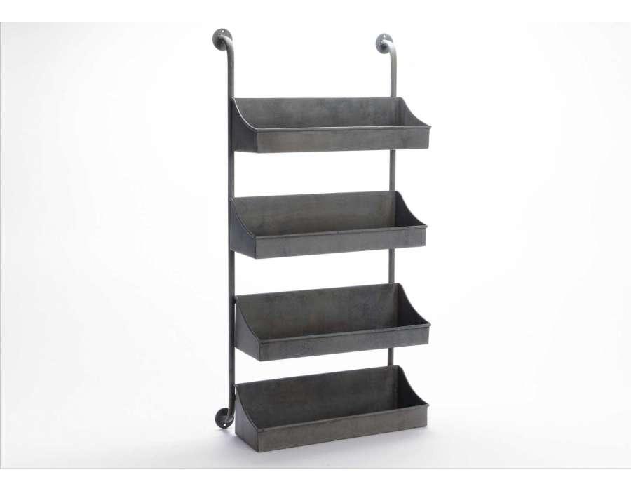 meuble metal noir. Black Bedroom Furniture Sets. Home Design Ideas