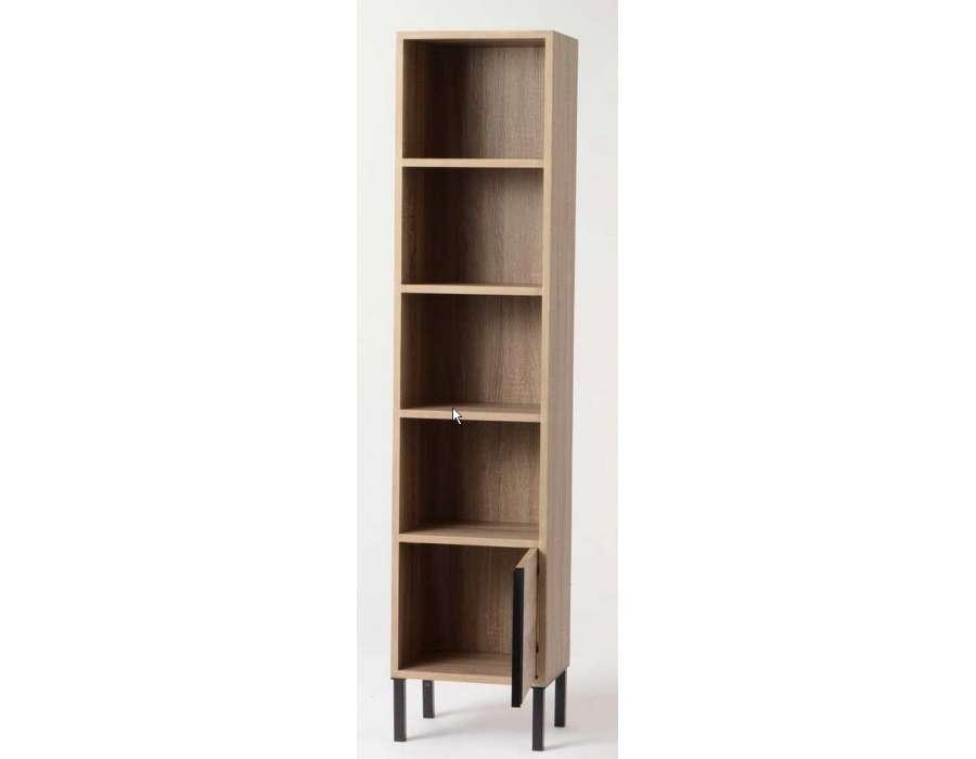 bibliotheque etroite. Black Bedroom Furniture Sets. Home Design Ideas