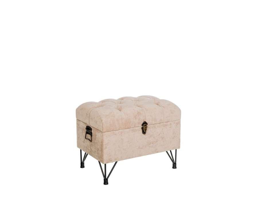 bout de lit capitonne noir. Black Bedroom Furniture Sets. Home Design Ideas