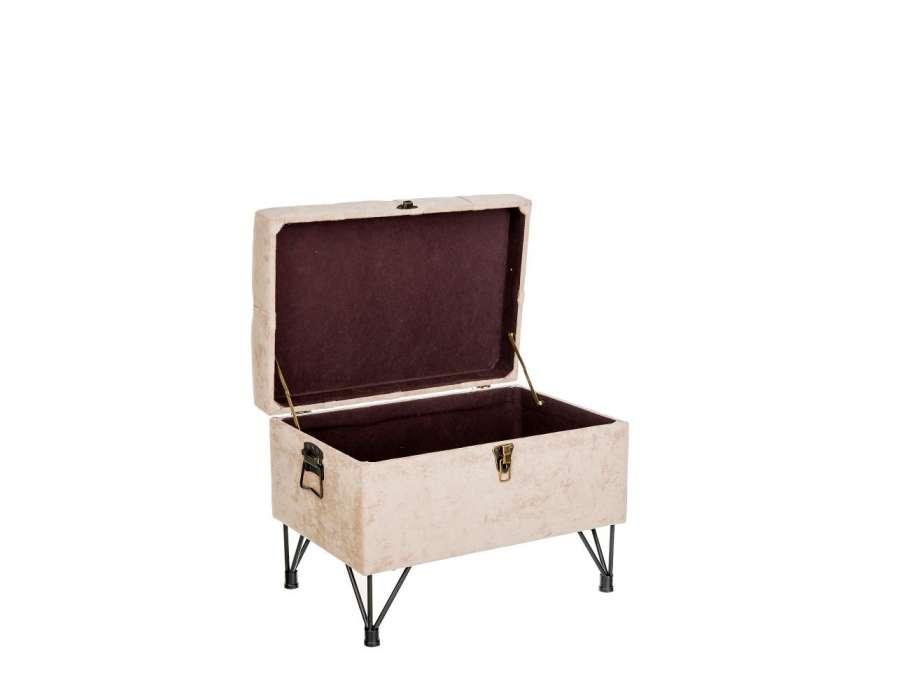 Coffre de lit capitonne maison design for Petite banquette lit