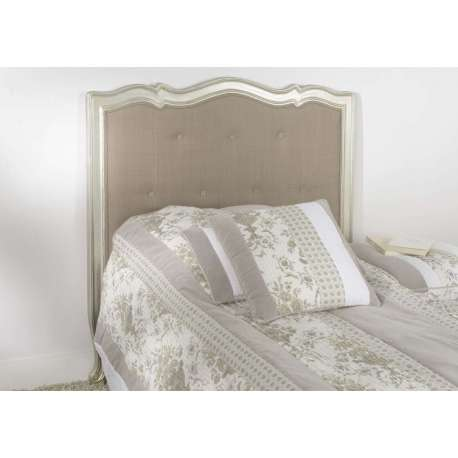 tete de lit 90 cm argent eet taupe baroque pas chere. Black Bedroom Furniture Sets. Home Design Ideas
