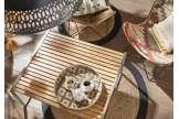 Table basse bois teck moderne