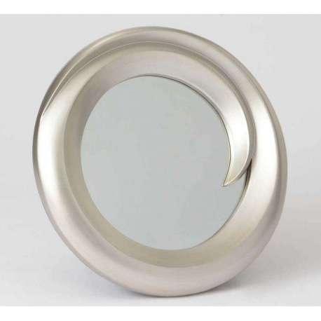 Miroir rond xl argent id es novatrices de la conception for Miroir xxl rond