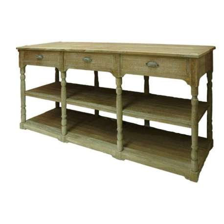 Table de drapier salle de bain latest meuble console bois tiroirs xxcm with table de drapier - Table de drapier salle de bain ...
