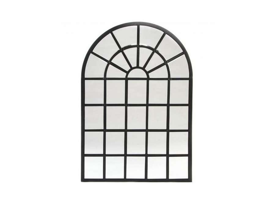 Miroir orangerie noir for Miroir orangerie