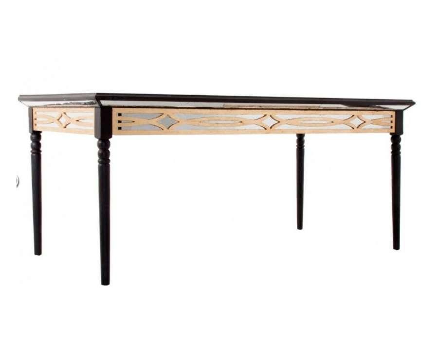 Table 180 cm Art déco noire Vical home