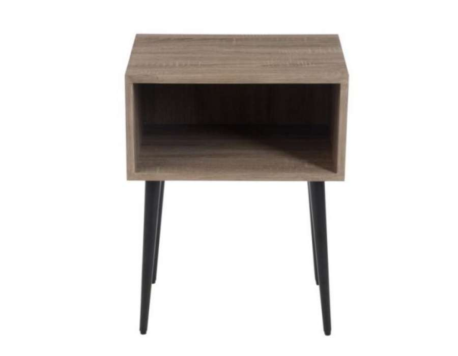 Table de nuit contemporain vace une niche jolipa for Table de nuit bois