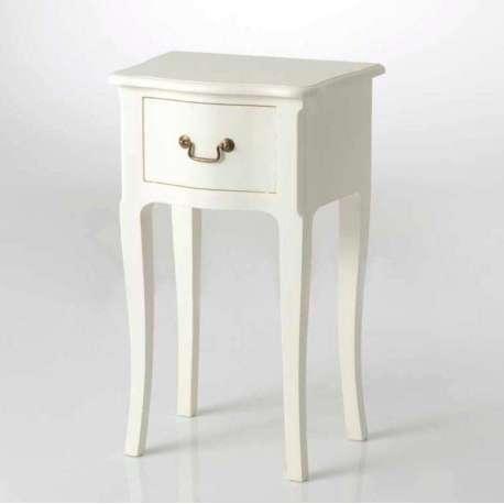 chevet romantique blanc cass hortense