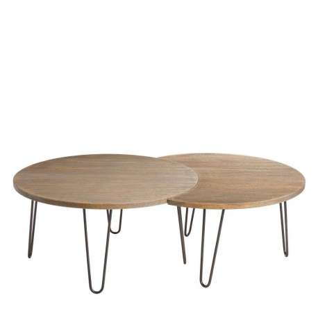 Table salon bois massif - Table de salon pas chere ...