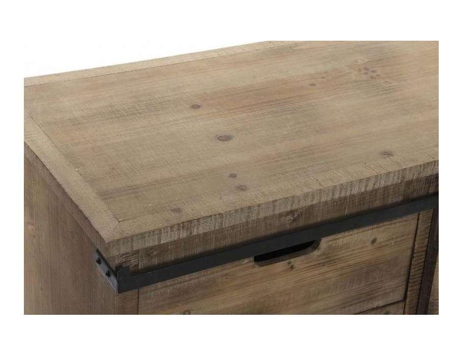 meuble cuisine industriel en bois et m233tal pas cher