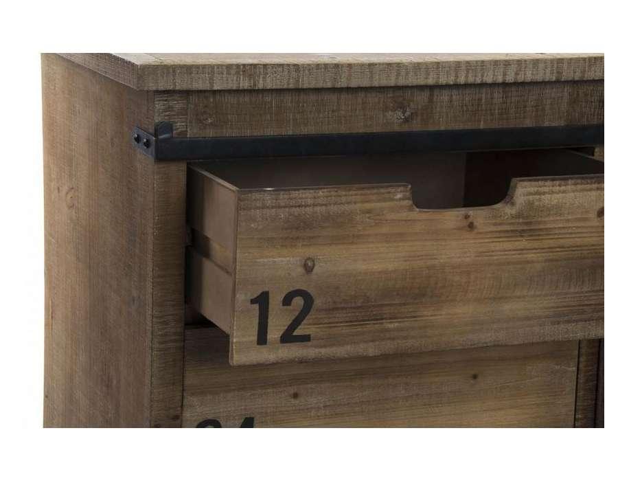Meuble cuisine industriel en bois et m tal pas cher for Cuisine bois industriel
