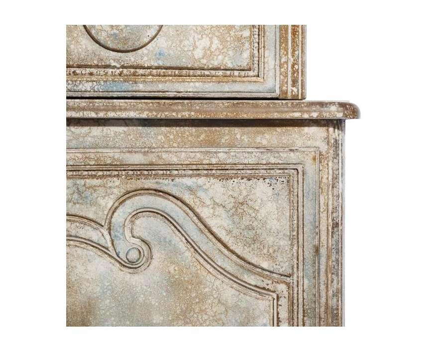 Armoire style ancien armoire ancienne de style louis xiv for Armoire de cuisine bleu antique