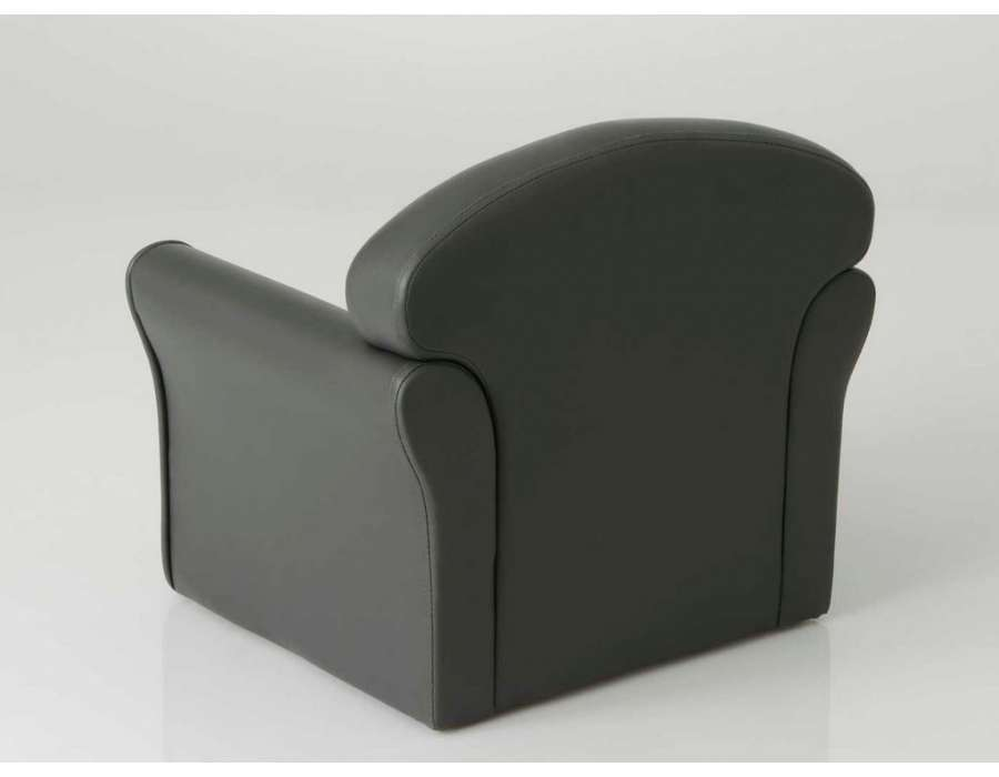 fauteuil club pour enfant gris de la marque amadeus. Black Bedroom Furniture Sets. Home Design Ideas