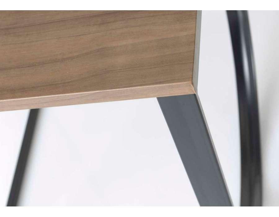 Bout de canap design industriel original amadeus for Bout de canape design