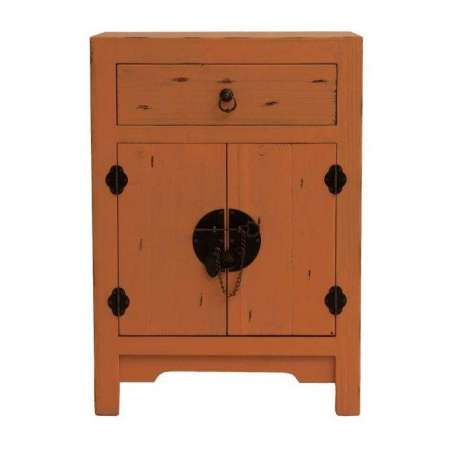 petit buffet asiatique moutarde vical home. Black Bedroom Furniture Sets. Home Design Ideas