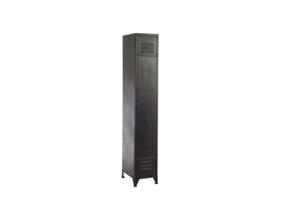 Armoire vestiaire métal grise Jolipa
