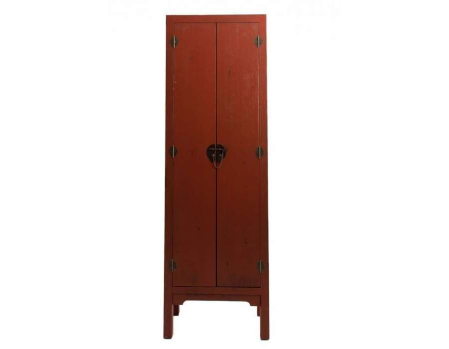 armoire asiatique de couleur orang e pas chere. Black Bedroom Furniture Sets. Home Design Ideas