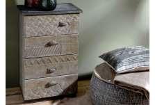 Meuble bois brut à peindre le grenier de juliette amadeus