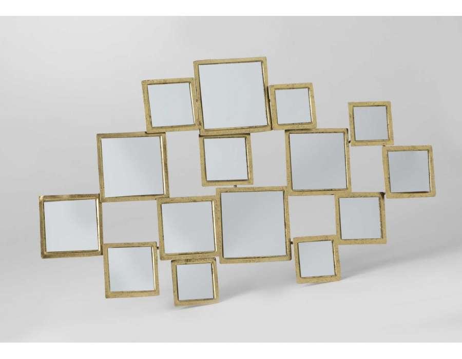 agr able miroir multi facettes 14 miroir dor multi facettes. Black Bedroom Furniture Sets. Home Design Ideas
