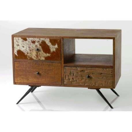 petit meuble tele en bois recycle et peau de vache Résultat Supérieur 5 Élégant Petit Meuble De Tele Photos 2018 Hdj5