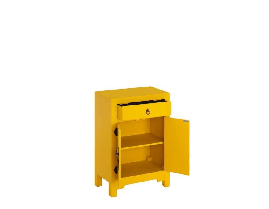 petit meuble de rangement chinois jaune meuble chinois pas cher. Black Bedroom Furniture Sets. Home Design Ideas